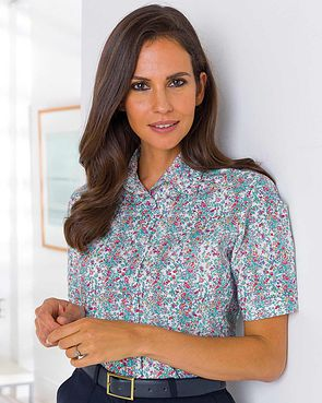 Purdy Floral Pure Cotton Blouse